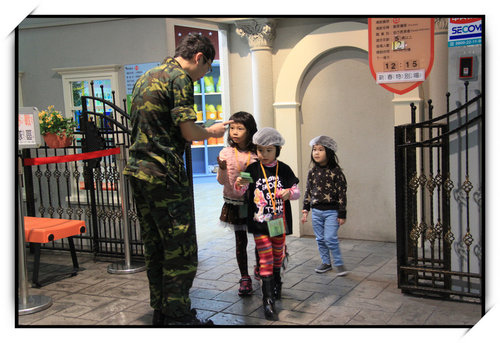 BABY BOSS職業體驗城~小如如的野戰陸戰隊職業體驗