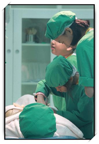 BABY BOSS職業體驗城~小如如的外科醫生體驗