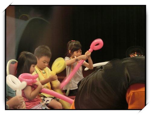 BABY BOSS職業體驗城~小如如的氣球魔術師體驗