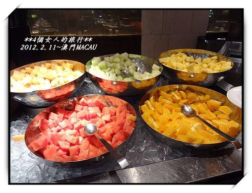 2012年2月澳門行~威尼斯人酒店內渢竹自助餐廳