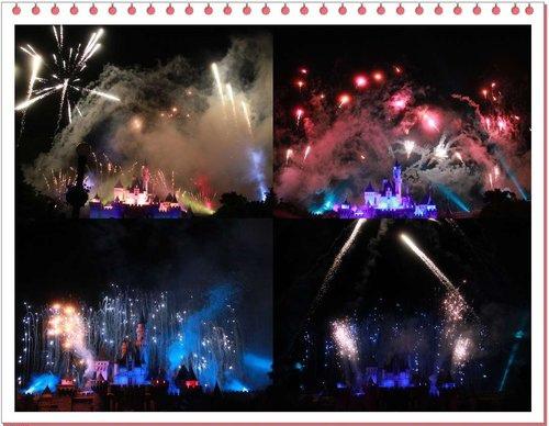 【2012年香港行】迪士尼樂園星光煙花晚餐