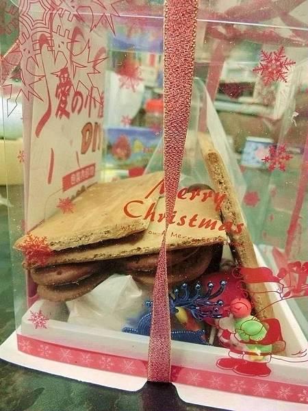 2013聖誕節小如如做薑餅屋