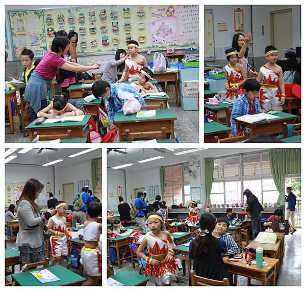 2014.5.7中華國小二年級母親節感恩表演