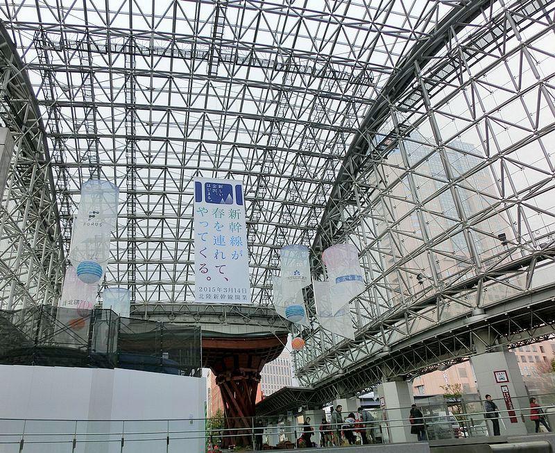 北陸新幹線金澤站開業見學日