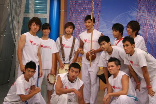 GTC全名Group Taiwan Capoeira 致力推廣卡波耶拉