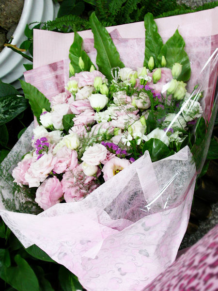 娘娘送的花