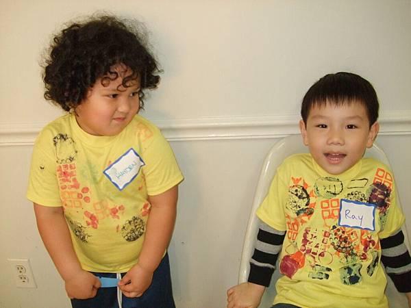 Ray和同學Hayden