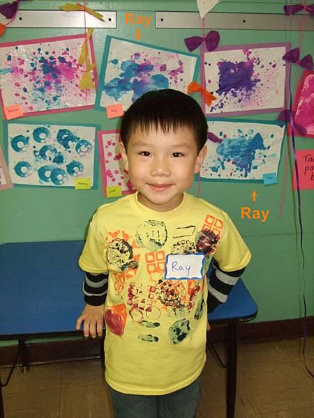 Ray和Ray的畫作
