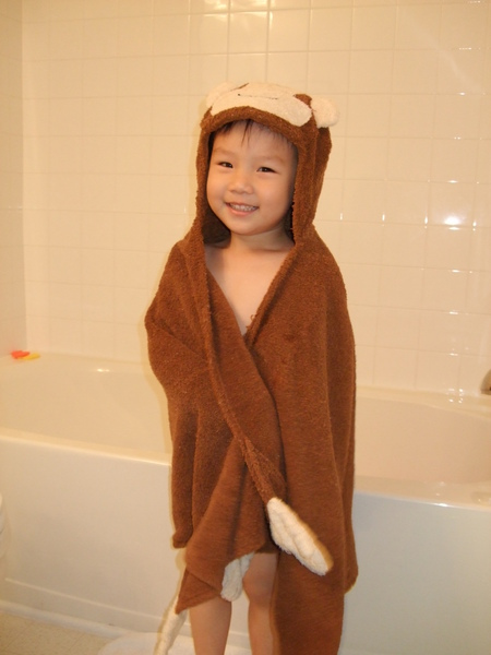 猴子Ray出浴囉!!