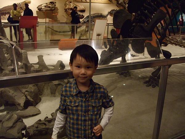 只要有恐龍看就很開心的Ray