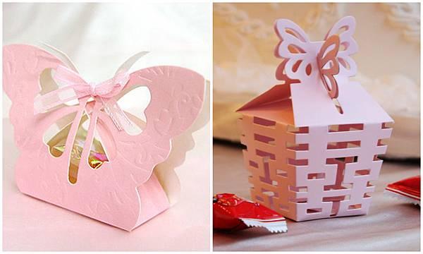 蝴蝶喜糖盒