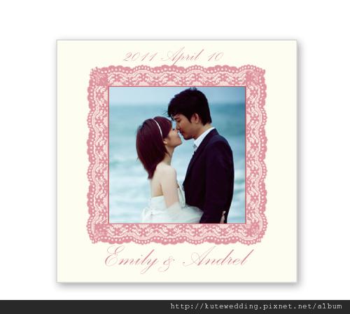 客製化相片貼紙 可艾婚禮小物