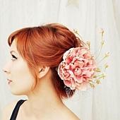 新娘造型頭飾