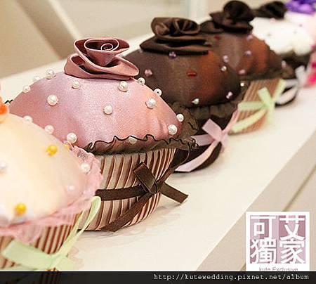 杯子蛋糕珠寶盒