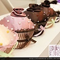 杯子蛋糕珠寶盒 可艾婚禮小物