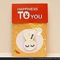 幸福小兔磁鐵 可艾婚禮小物