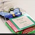 蝴蝶便利貼磁鐵 可艾婚禮小物