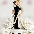 wedding cake topping