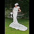 廁紙婚紗大賽9