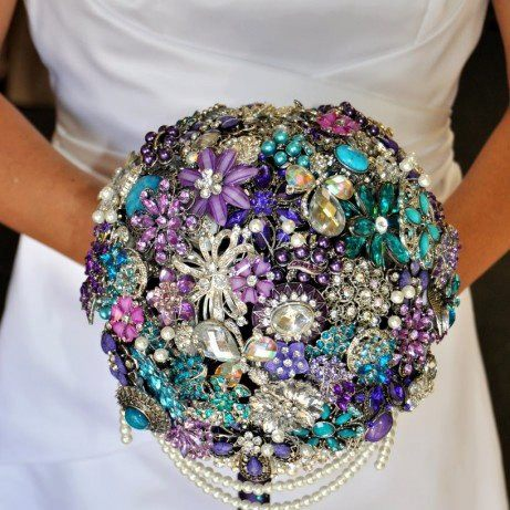 超華麗新娘捧花