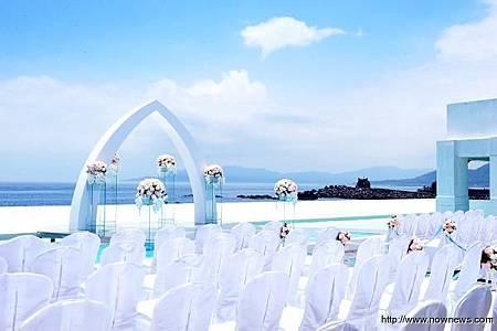 戶外海景婚禮