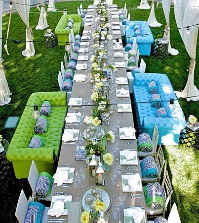 加州戶外婚宴