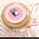 可艾婚禮麥芽糖餅乾