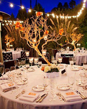 婚宴賓客桌佈置