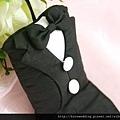 可艾婚禮小物 黑西裝禮服香包
