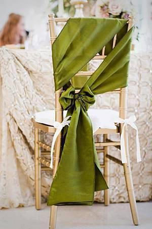 婚宴椅背佈置