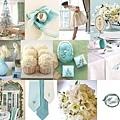 藍白色系婚禮