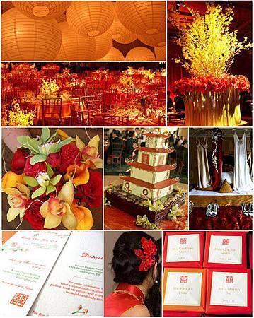 東方紅中國風婚禮