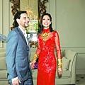 周汶錡法國出嫁