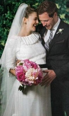Drew Barrymore出嫁