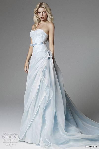 blumarine-2013-bridal-light-blue-wedding-dress-strapless-flange-skirt