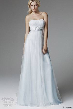 blumarine-2013-bridal-strapless-pale-blue-wedding-dress