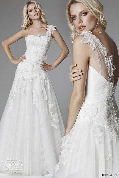 blumarine-wedding-dress-2013-one-shoulder-drop-waist-gown