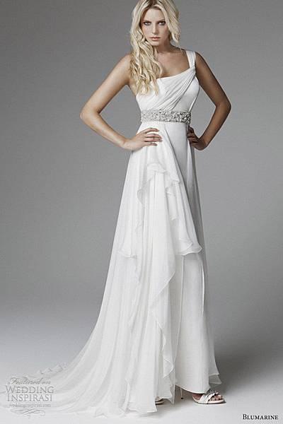 blumarine-wedding-2013-one-shoulder-drape-grecian-wedding-dress