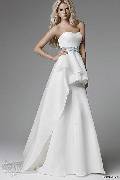 blumarine-wedding-dresses-2013-strapless-sweetheart-peplum-gown