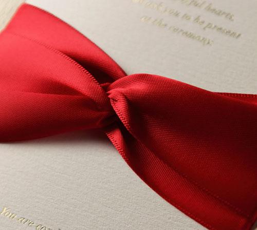 可艾婚禮 東方紅 進口喜帖婚卡