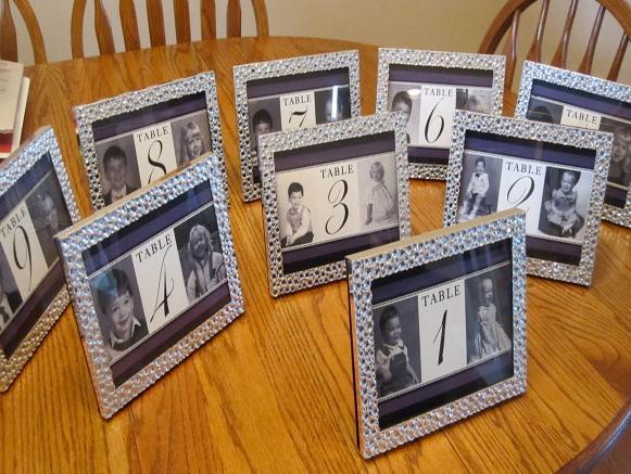 婚禮佈置 桌號相框