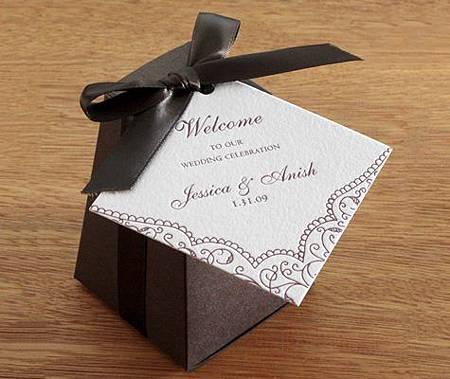 婚禮小物包裝吊卡