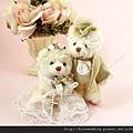 歐式結婚小熊