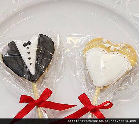 新郎新娘手工餅乾