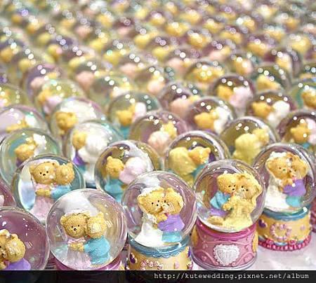 迷你小熊水晶球