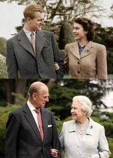 英國女王夫婦結婚65週年紀念