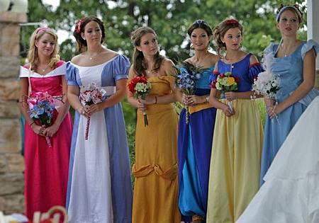 公主伴娘群
