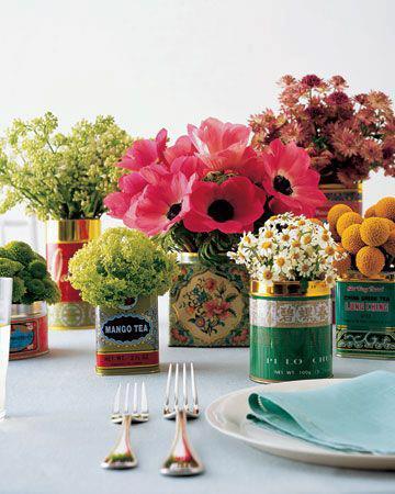 茶葉罐花器
