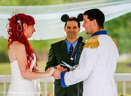 小美人魚婚禮