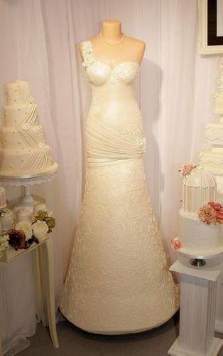 婚紗型蛋糕